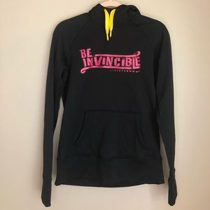 """Nike Livestrong """"Be Invincible"""" Hoodie - Sz S, EUC"""